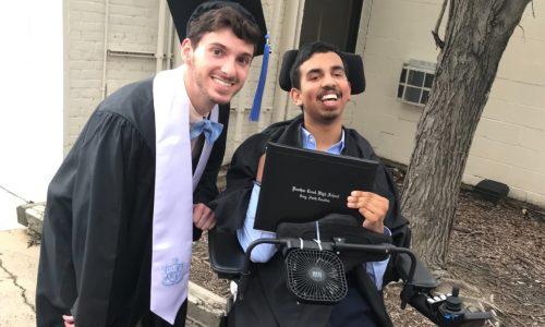 Graduation pic w chris